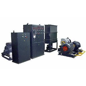 Стенд испытания синхронных генераторов и машин постоянного тока