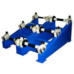 Стойка с тормозом для установки катушек и натяжения проводов